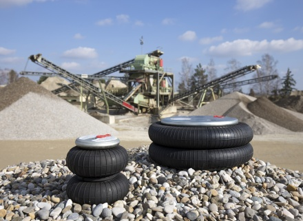 Tema Machinery launch Air Suspension for Aggregate Screening Machines in the UK.